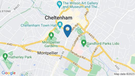 F6 Bath Road Apartment Map