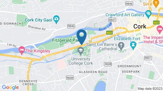 Killarney Guest House Map