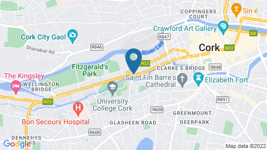 Garnish House Guesthouse Map