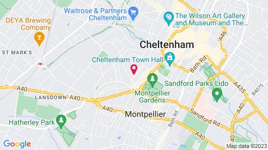 Malmaison Cheltenham Map