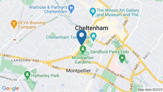 Queens Hotel Cheltenham - MGallery Map