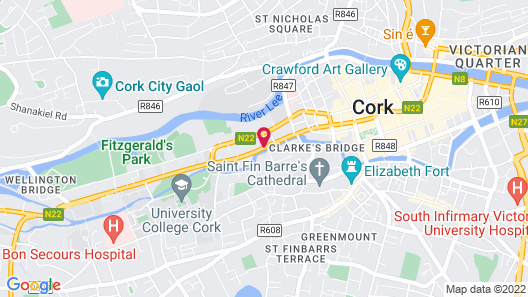 The River Lee Hotel Map