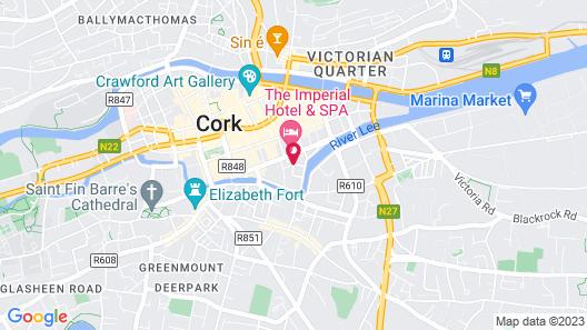 2 bedroom penthouse Cork city Fitton St Map