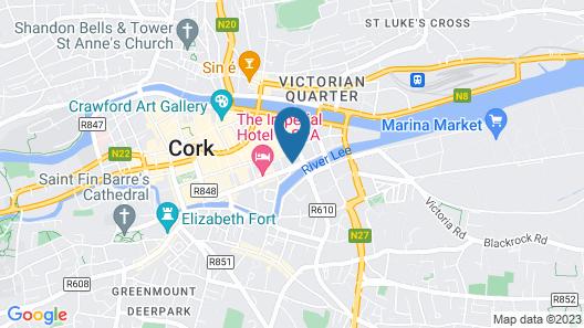 Maldron Hotel South Mall Cork City Map
