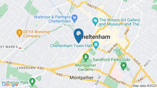 Hotel du Vin & Bistro Cheltenham Map