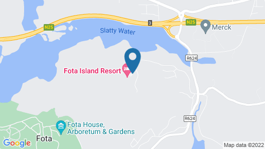 Fota Island Hotel & Spa Map