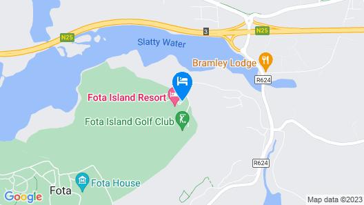 Fota Island Hotel & Spa Map