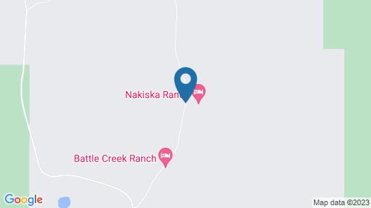 Nakiska Ranch Map
