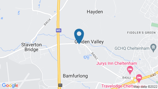 Cheltenham Regency Hotel Map