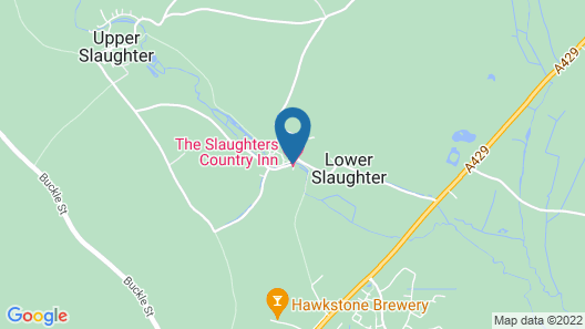 The Slaughters Country Inn Map