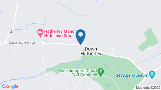 Hatherley Manor Hotel & Spa Map