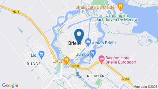 Fletcher Hotel-Restaurant De Zalm Map