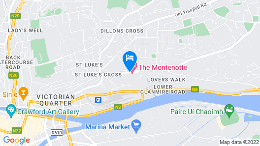 The Montenotte Hotel Map