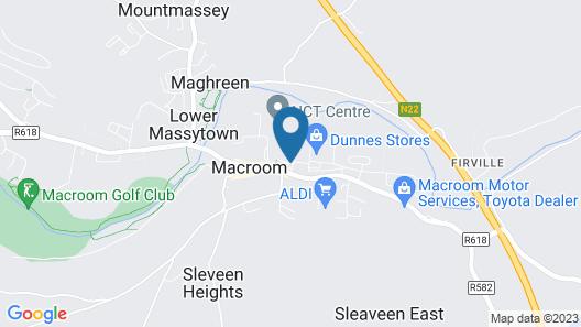 Castle Hotel Macroom Map