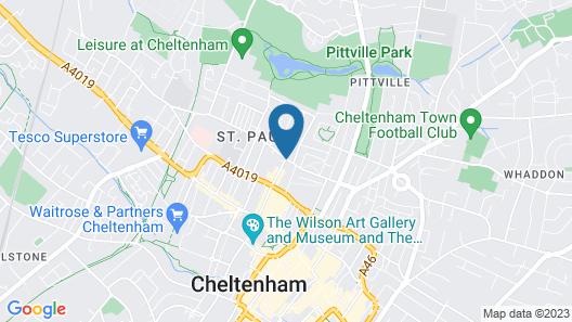 Holiday Inn Express Cheltenham Map