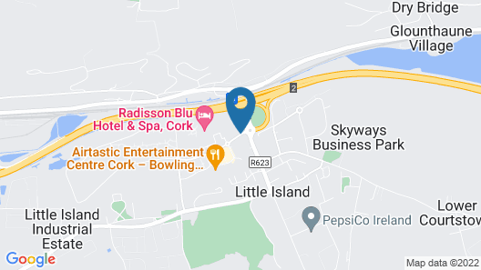 Radisson Blu Hotel & Spa, Cork Map