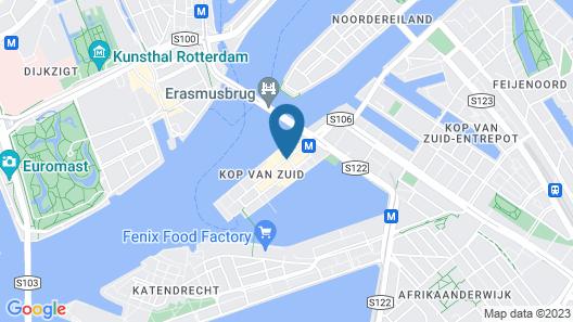 nhow Rotterdam Hotel Map