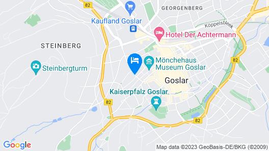 Hotel Kaiserhof Goslar Map