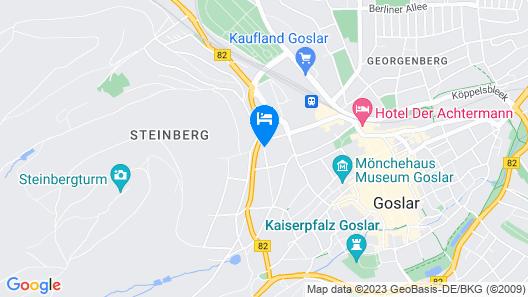 Hostel Goslar Map