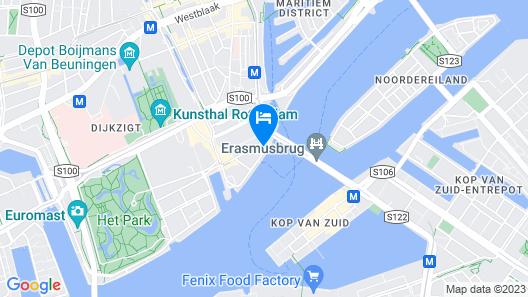 Thon Hotel Rotterdam Map