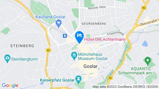 Hotel Der Achtermann Map