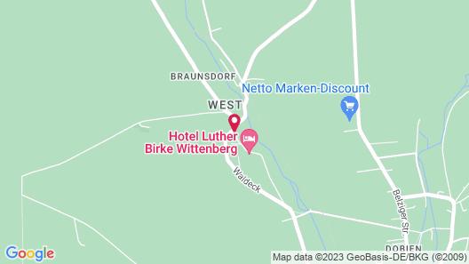 Hotel Luther Birke Wittenberg Map