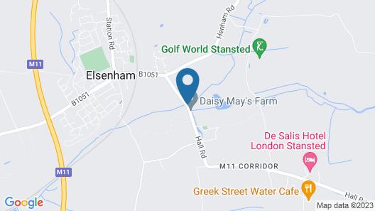 De Salis Hotel Map