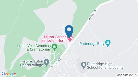 Hilton Garden Inn Luton North, United Kingdom Map