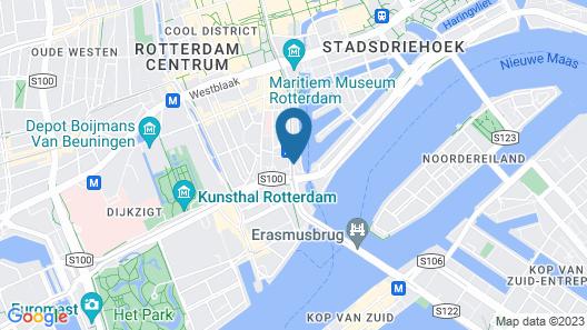 Inntel Hotels Rotterdam Centre Map