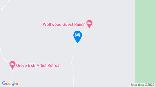 Wolfwood Guest Ranch Map