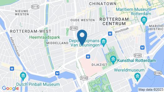 MyCityLofts - Rooftop Suite Map