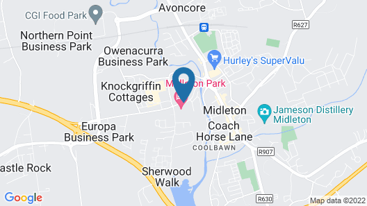 Midleton Park Hotel Map