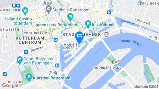 Ibis Rotterdam City Centre Map