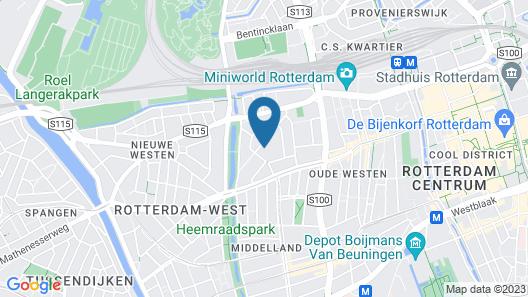 Le Petit Marin Boutique Hotel Map