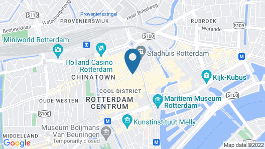 The James Hotel Rotterdam Map