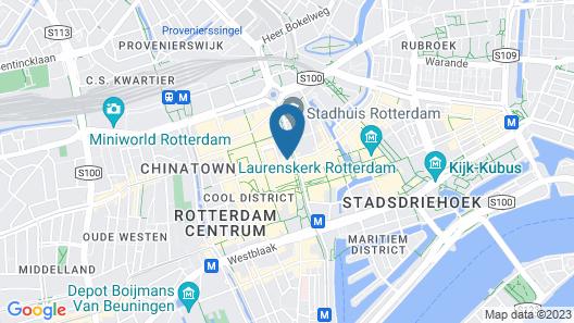 NH Atlanta Rotterdam Map
