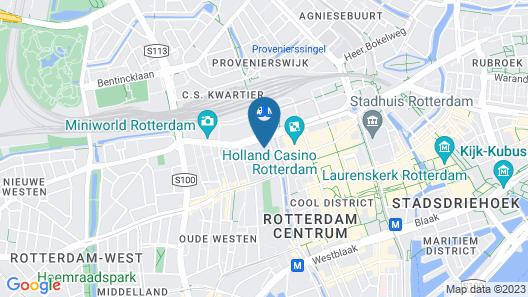 PREMIER SUITES PLUS Rotterdam Map