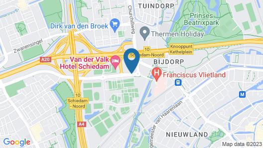 Novotel Rotterdam Schiedam Map