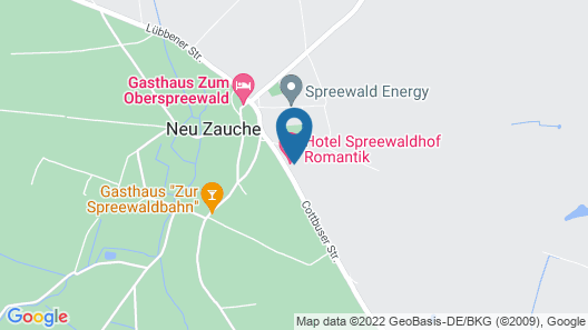 Hotel Spreewaldhof Romantik Map