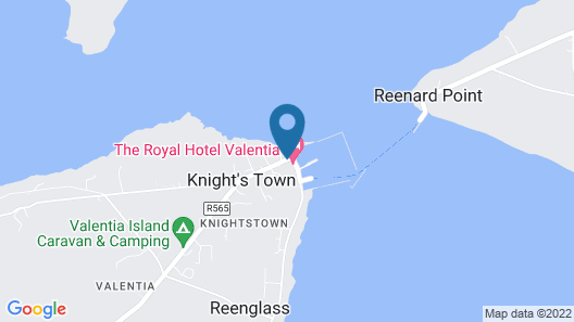 The Royal Valentia Hotel Map