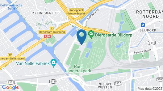 Van der Valk Hotel Rotterdam-Blijdorp Map