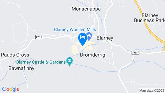 Blarney Castle Hotel Map