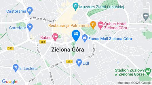 Apartamenty Centrum Park Map