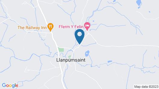 Fferm y Felin Map