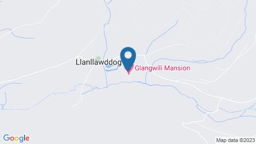 Glangwili Mansion Map