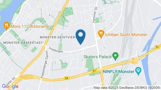 Johanniter Gästehaus Map