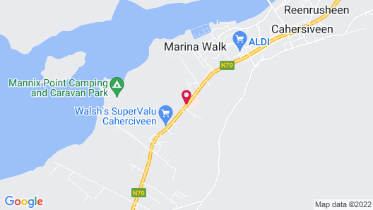 Ring of Kerry Hotel Map