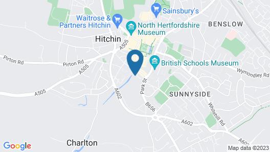 Hitchin Priory Map