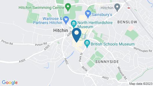 The Sun Hitchin by Greene King Inns Map
