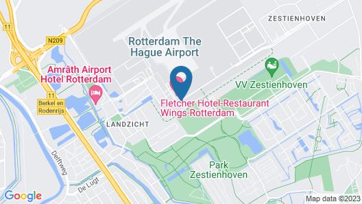 ibis budget Rotterdam The Hague Airport Map